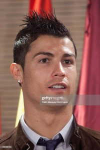 Ronaldo Earrings Stock Photos and Pictures | Getty Images