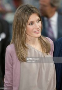 Princess Letizia Meet 'Ego Platform' Young Fashion ...