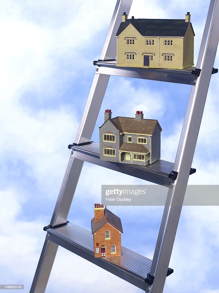 Property Ladder Stock Photo Getty Images