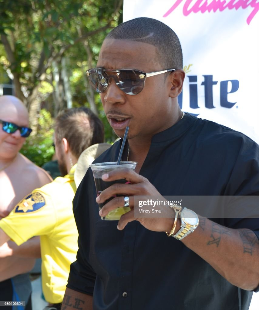 Flamingo Pool Vegas Rules Recording Artist Actor Ja Rule Arrives At The Go Pool At Flamingo