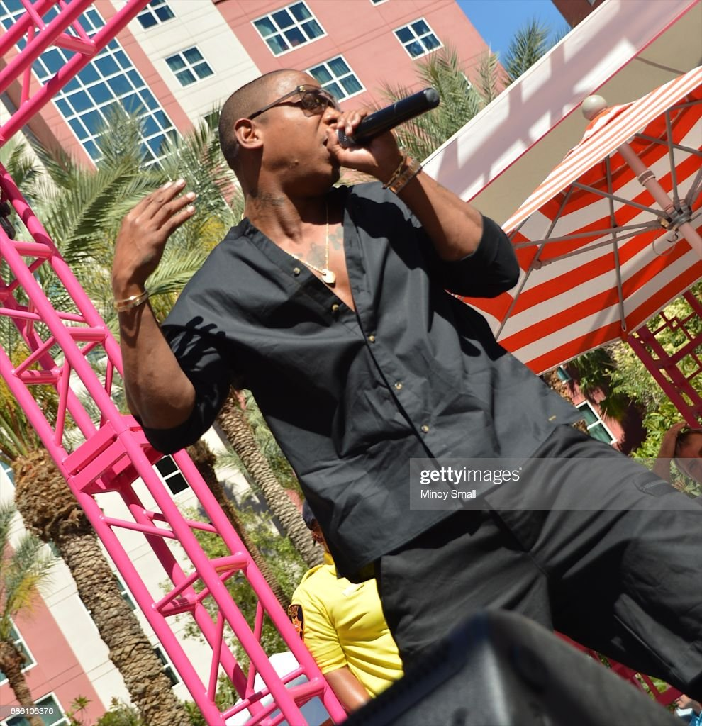 Flamingo Pool Vegas Rules Recording Artist Actor Ja Rule Performs At The Go Pool At Flamingo