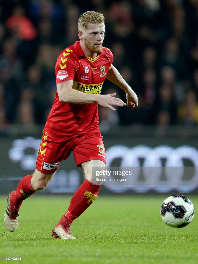 Keuken M/v Richard Van Der Venne Of Go Ahead Eagles During The Dutch Keuken