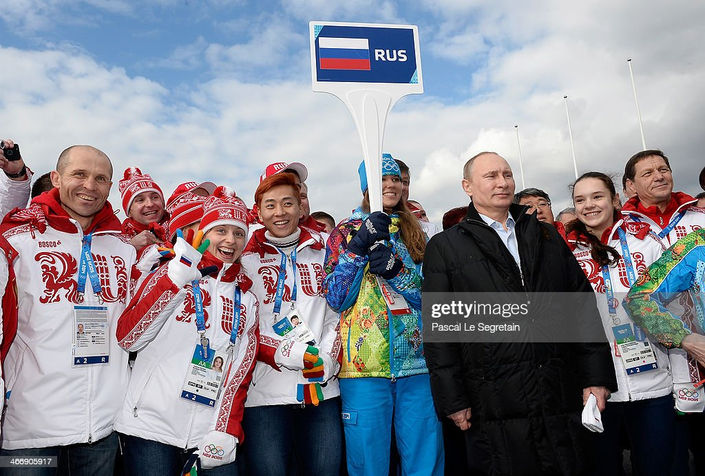 Russia Olympic Team Photos Et Images De Collection Getty