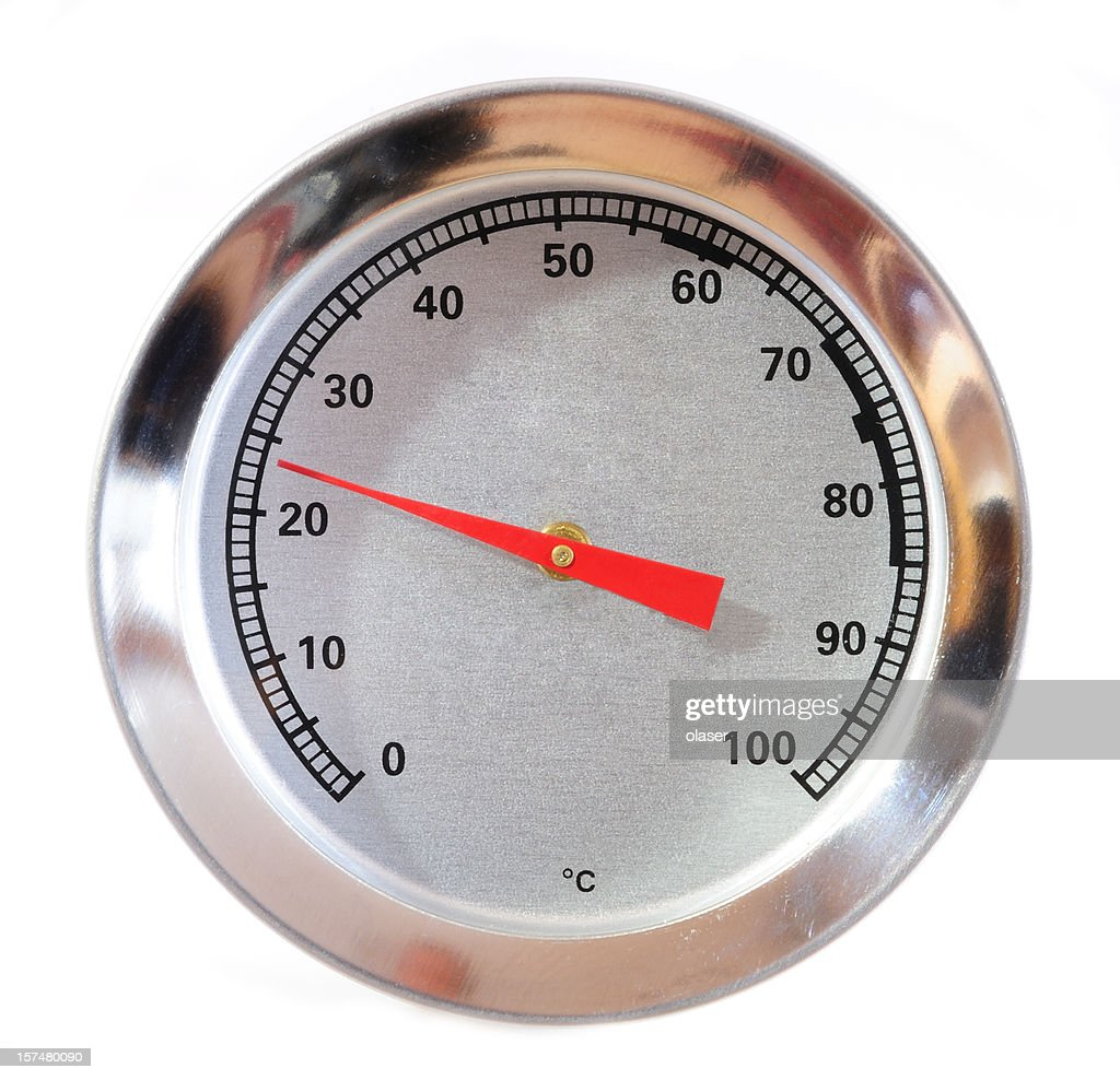 Thermometer Für Fleisch Steak Thermometer Für Fleisch Temperaturen Stock Foto