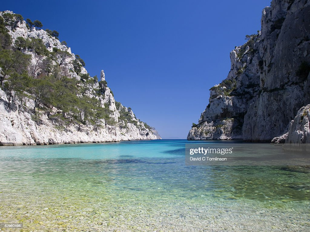 Location Canoe Cassis The Calanque Denvau Cassis France Stock Photo Getty Images