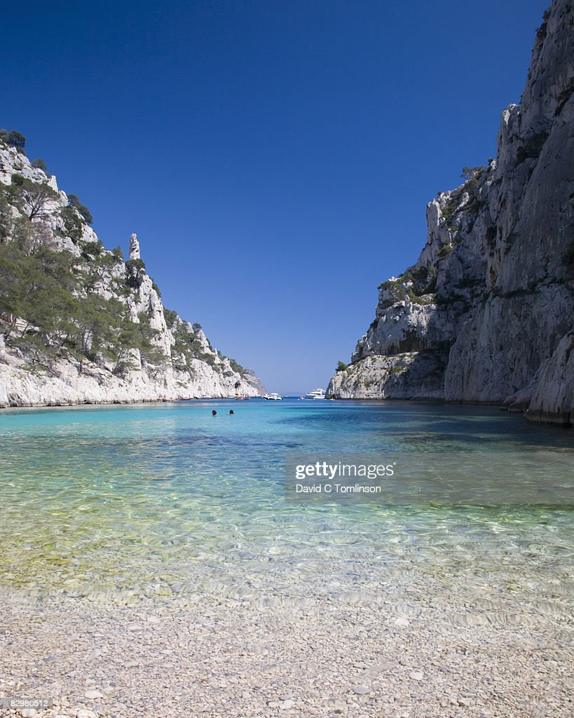 Location Canoe Cassis The Calanque Denvau Cassis France Stock Foto Getty Images