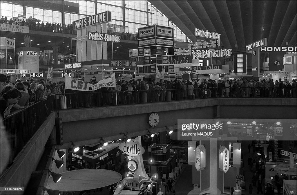 The Salon des Arts Menagers in La Defense at the Olympia ...