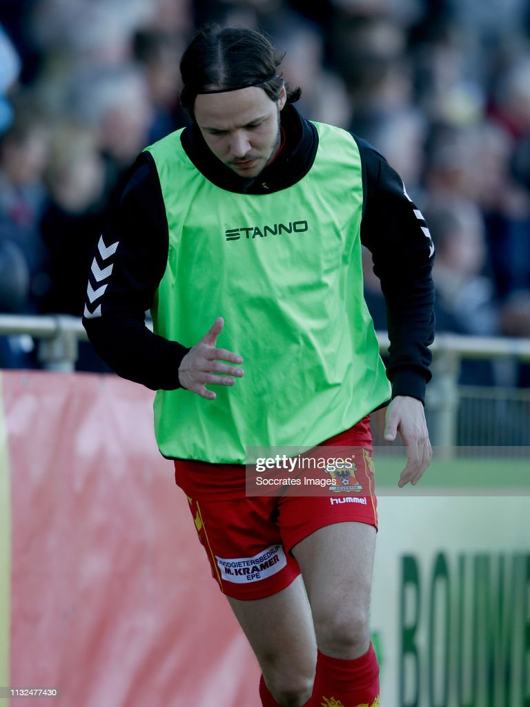 Keuken M/v Thijs Dekker Of Go Ahead Eagles During The Dutch Keuken Kampioen