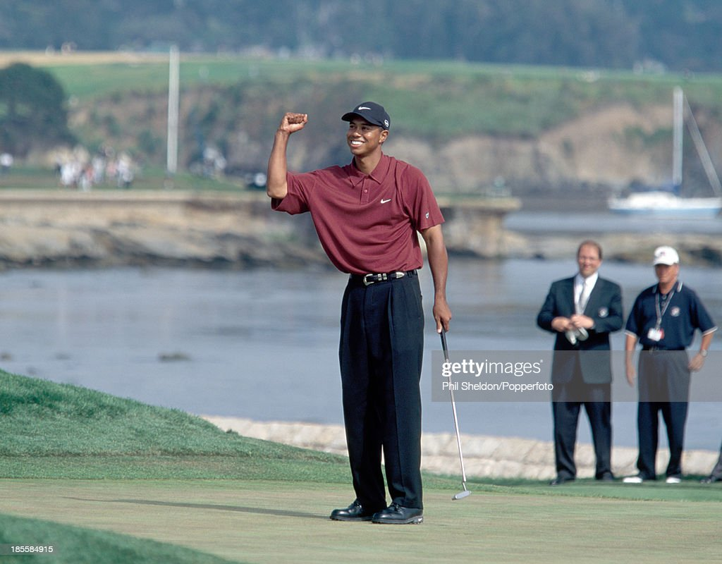 tiger woods open championship 2000