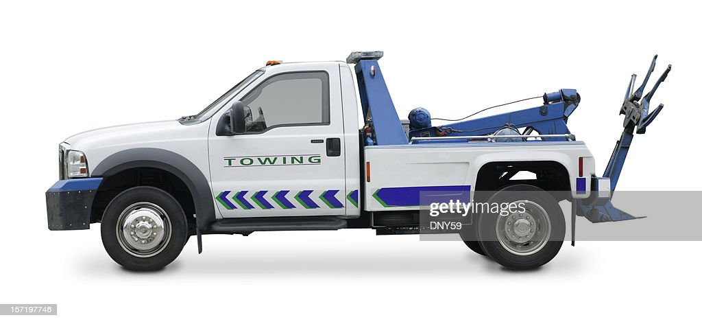 Towing Car Tow Truck Stock Photos And Pictures | Getty Images