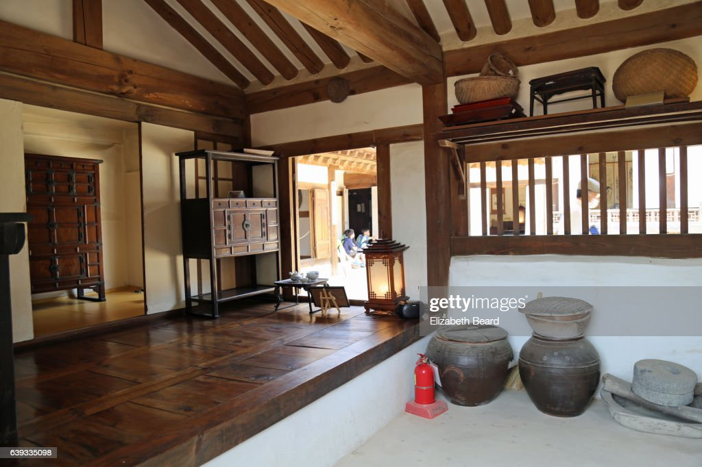Rf Design Traditional Korean House Interior Namsangol Hanok Village