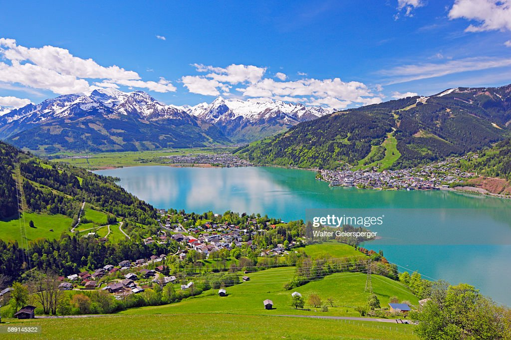 Zell Am See Austria High Res Stock Photo Getty Images - Zwembad Zell Am See
