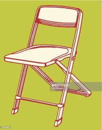 Folding Chair Stock Illustrations And Cartoons | Getty Images