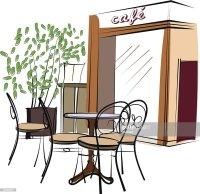 Hand Drawn Paris Cafe Vector Art | Thinkstock