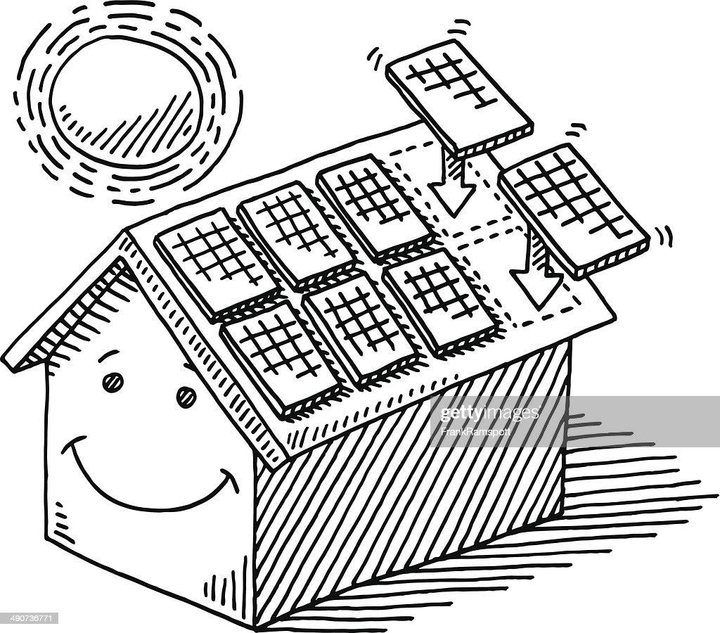 home solar panel install