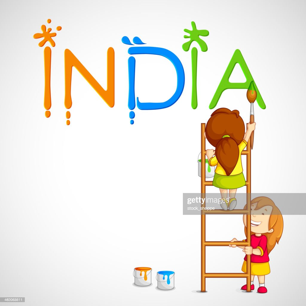 Toilettenbürste Tier Kinder Malen Tricolor Indien Stock Illustration Getty Images