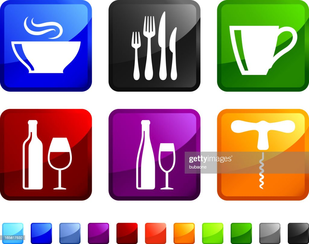 Kitchen Gadgets Online Kitchen Utensils And Appliances Royalty Free Vector Icon
