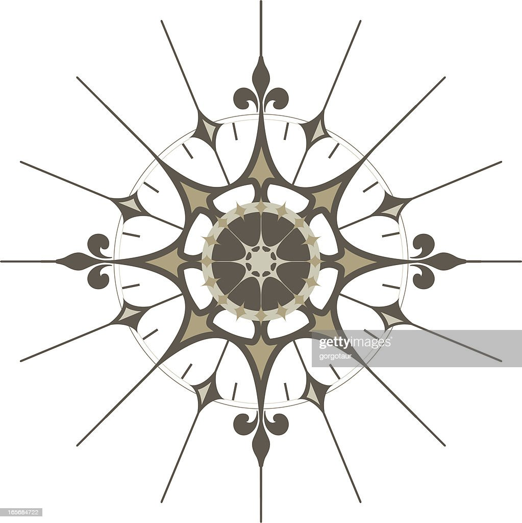 Weather Nederland 60 Top Compass Rose Stock Illustrations, Clip Art