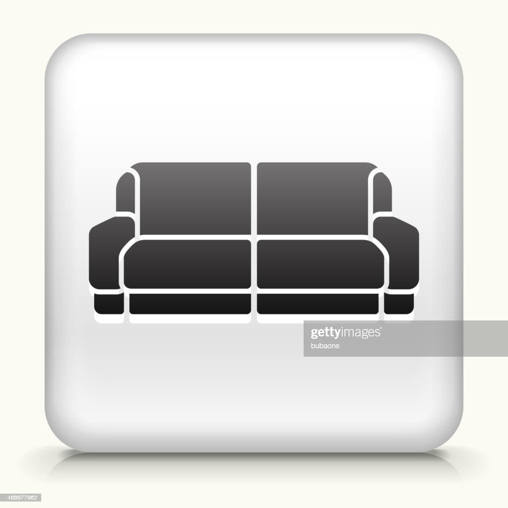 Sofa Vector Free Royalty Free Vector Icon Button With Sofa Stock Vector Getty Images
