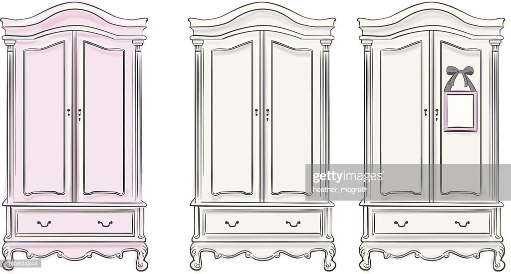 Wardrobes Vector Art Getty Images