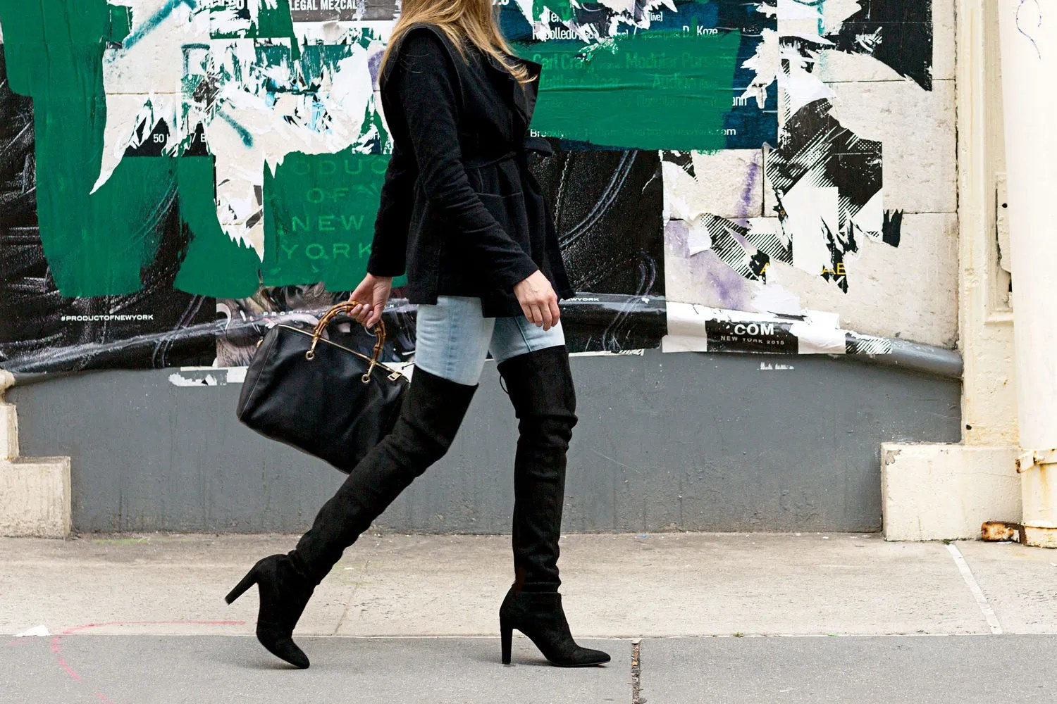 Fall Fashion Trend How Thigh High Boots Fit Large And