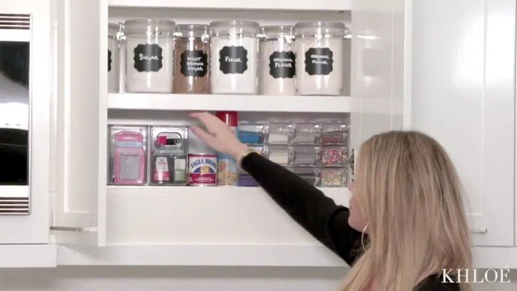 prep holiday baking khloe kardashian ideas steal kitchens organization ideas organize kitchen
