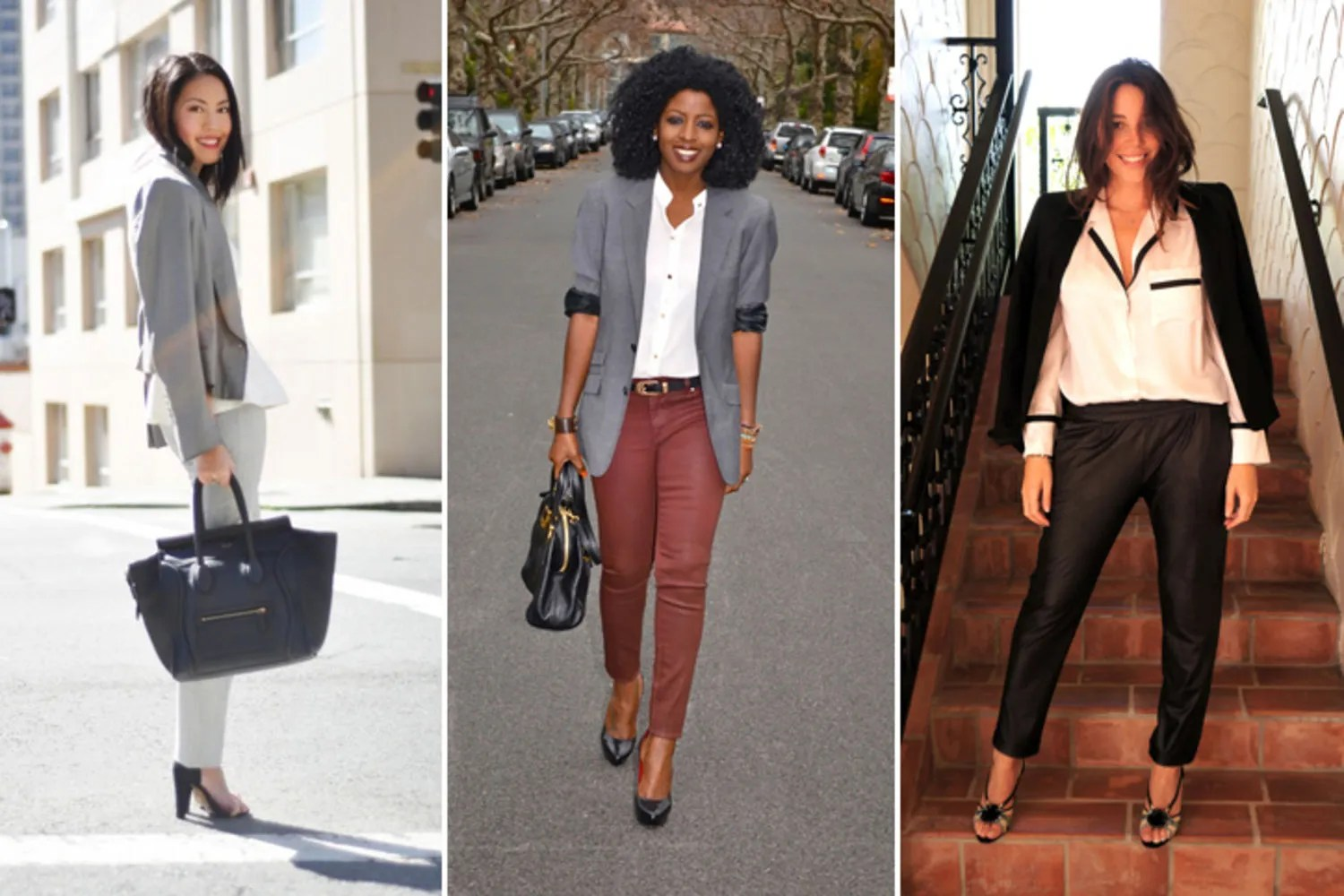 Outfits Mit Blazer 11 Ways To Wear A Blazer From Our Favorite Fashion