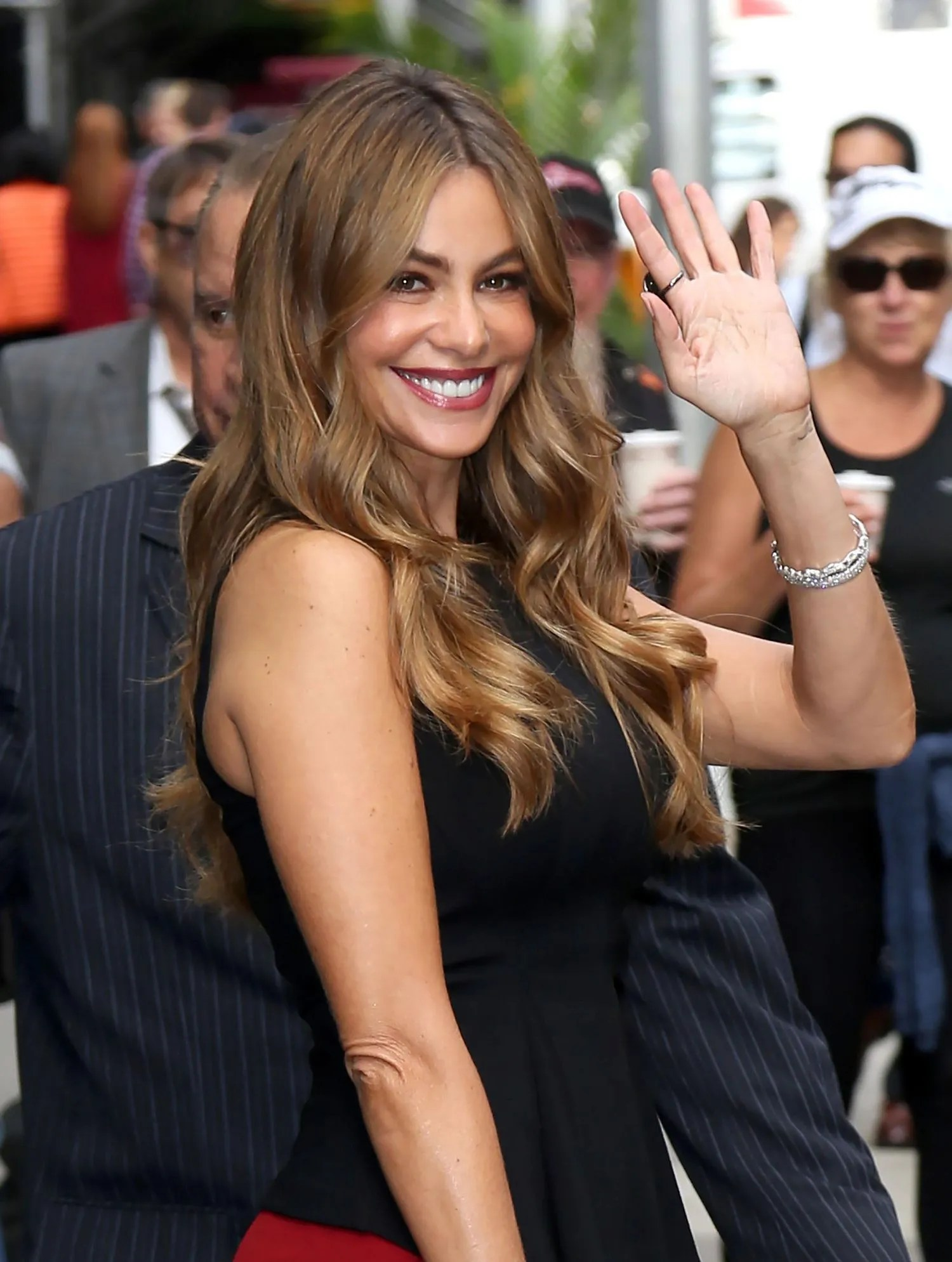 Sofia Vergara Hair Color Of Course Sofia Vergara Said The Funniest Thing About Aging Glamour