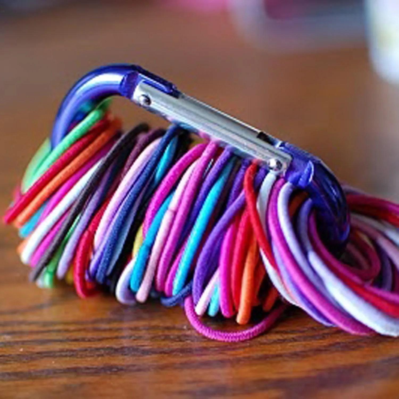 5 Genius Ways to Wrangle Your Hair Ties, Ponytail Holders