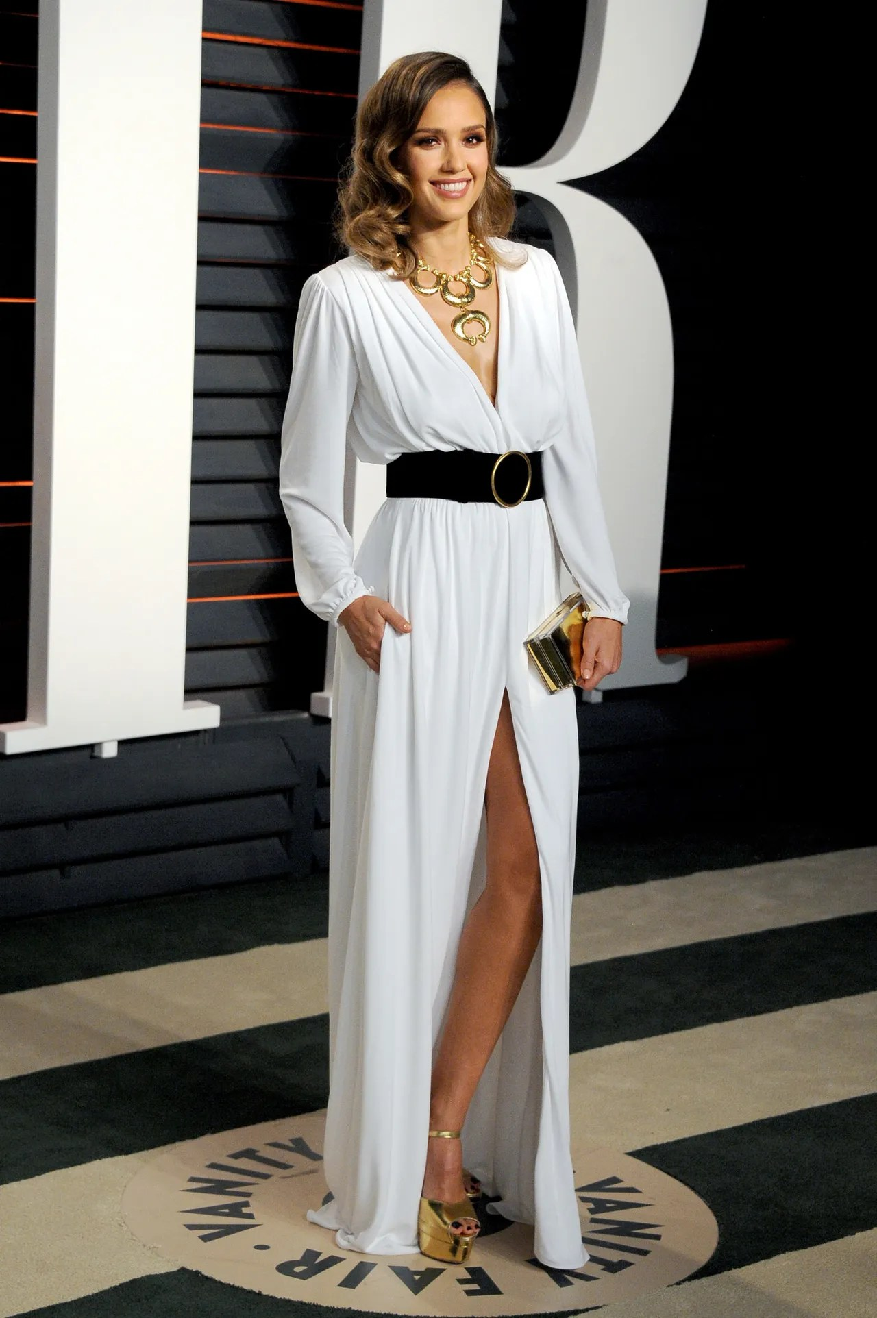 Sophisticated Vanity Fair Oscars Party 2016 Jessica Alba Roberto Cavalli Oscar Red Carpet Dresses You Oscar Knock Off Dresses 2016 10 Oscar Dresses 2016 wedding dress Oscar Dresses 2016