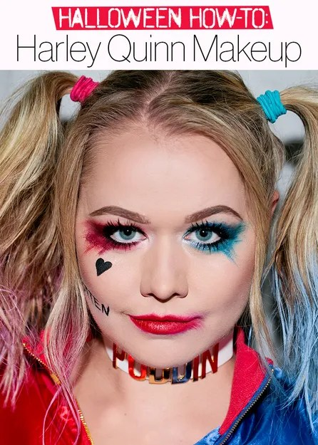 Best Color Hair Spray For Halloween Harley Quinn Costume How To Halloween 2016 The Best