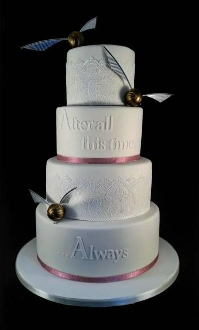 Harry Potter Wedding Cakes | Glamour