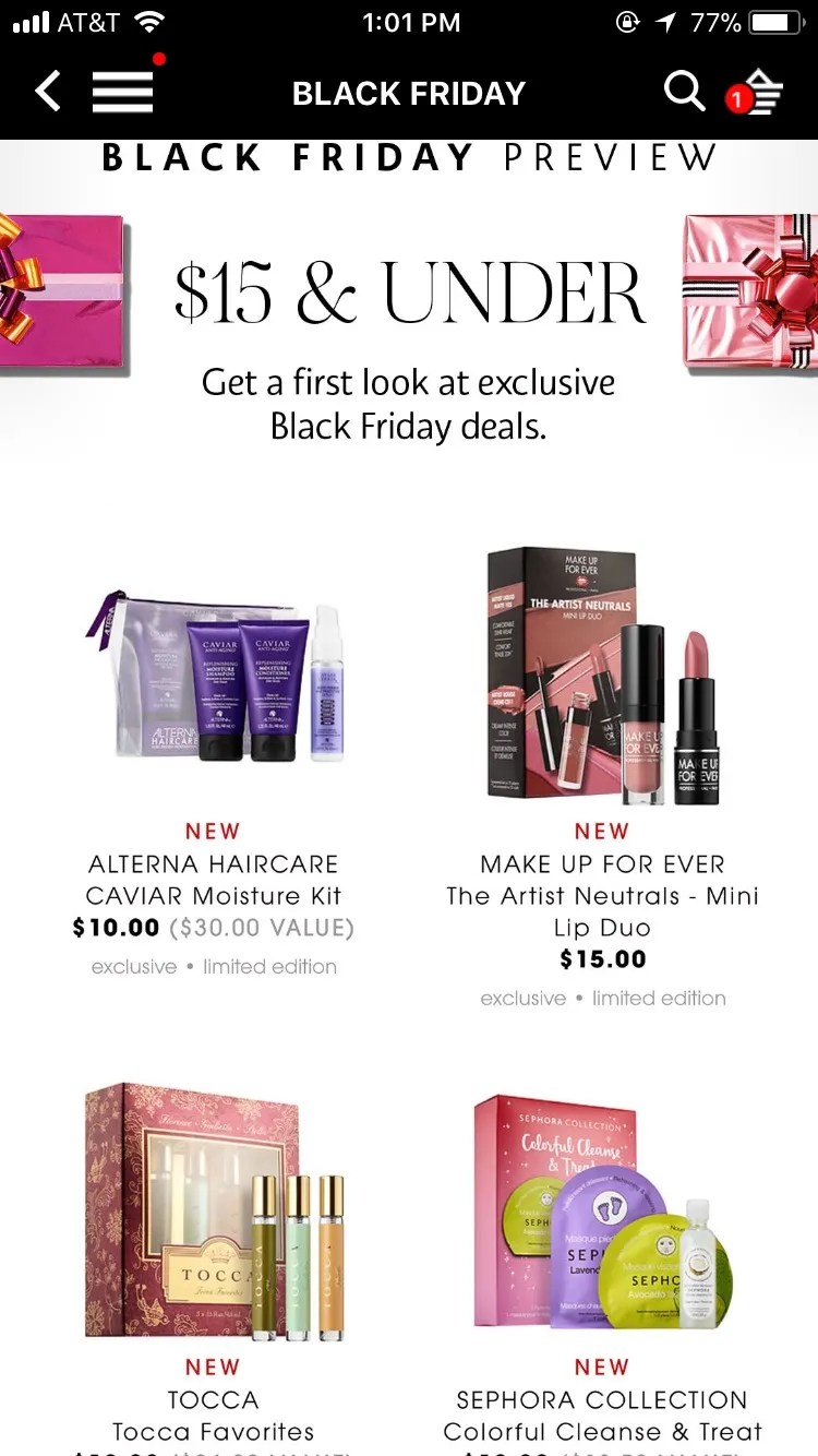 Black Friday Angebot Sephora Black Friday Deals 2017 What To Expect Glamour