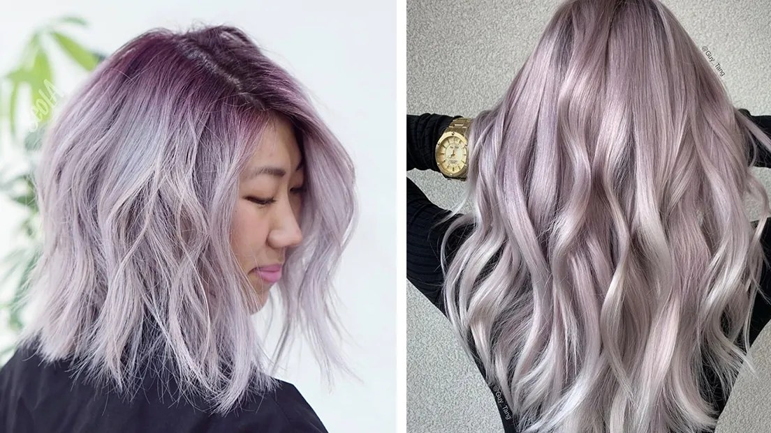 Hair Color Style Names 21 Pretty Lavender Gray Hair Ideas To Try This Season