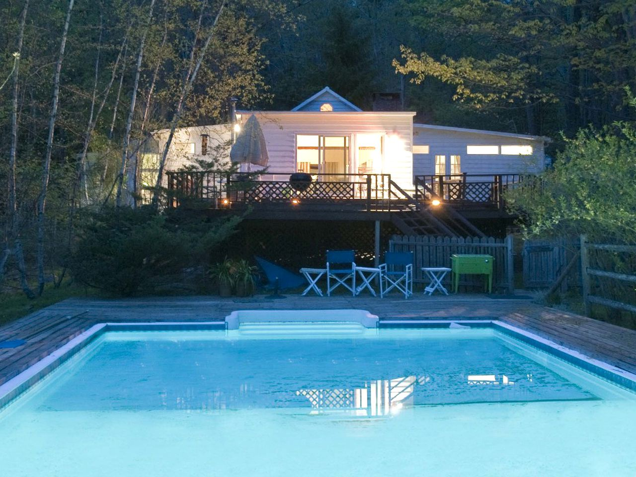 Jacuzzi Pool Deluxe Deluxe Cottage With Private Outdoor Pool And Jacuzzi In Woodstock New York