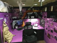 Halloween Door Decorating Ideas Office Image | yvotube.com