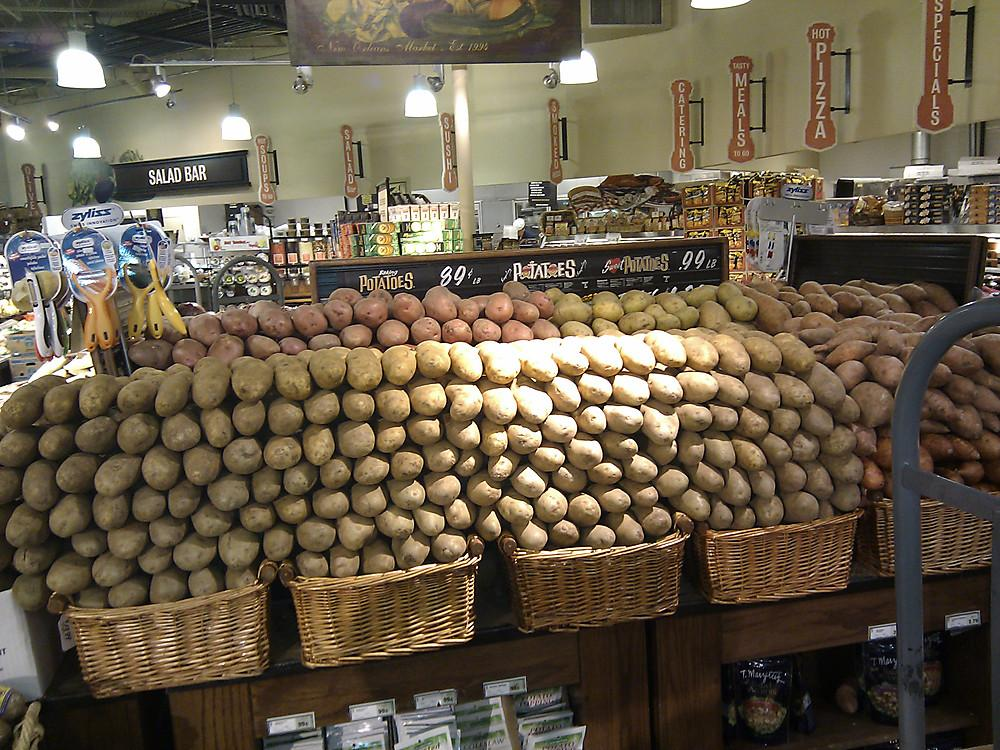 The potato table - Robért Fresh Market Office Photo Glassdoor