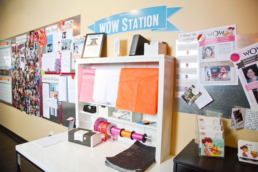 One of our Wow stations where - Ruby Receptionists Office Photo