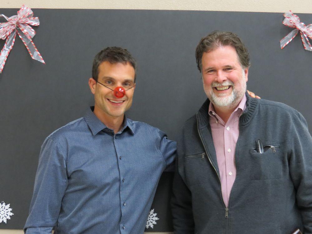 CEO Brandon Johnson (left) wi - Johnson RV Office Photo Glassdoor - sales associate