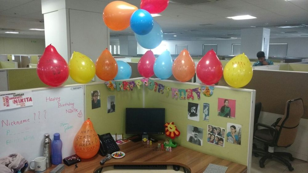 Birthday celebration - Persistent Systems (India) Office Photo
