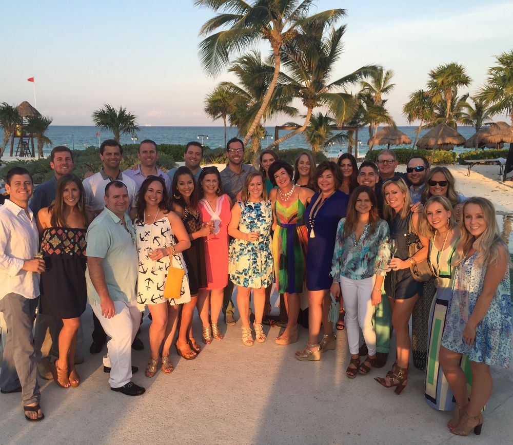 Cancun Trip Incentive Trip 2016 Cancun Accrue Partners Office Photo