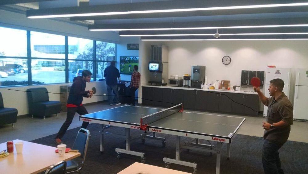 Ping pong in the Hangar - Allegiant Travel Office Photo Glassdoor