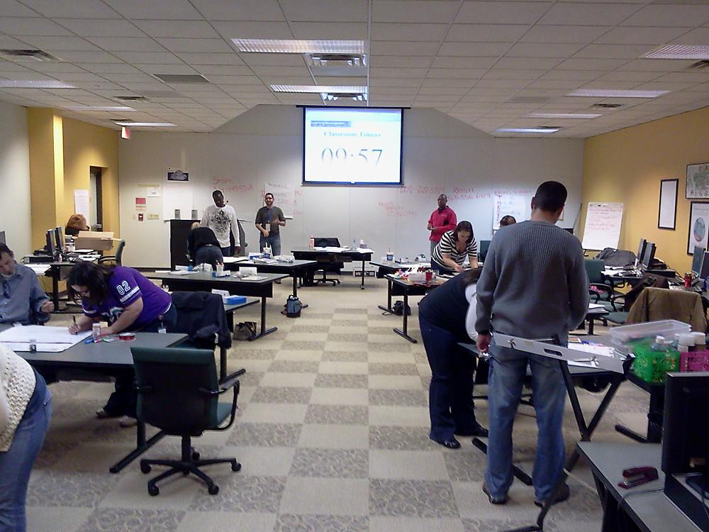 New training class for our Cu - US Cellular Office Photo