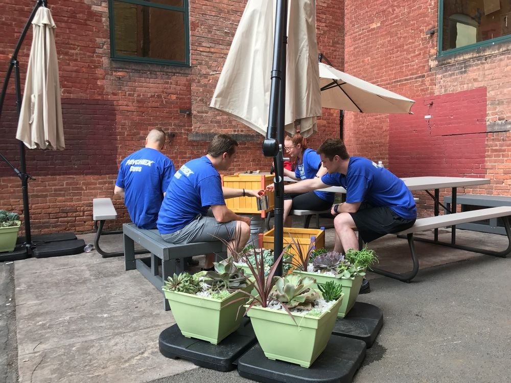 United Way Day of Caring 2018 - Paychex Office Photo Glassdoor
