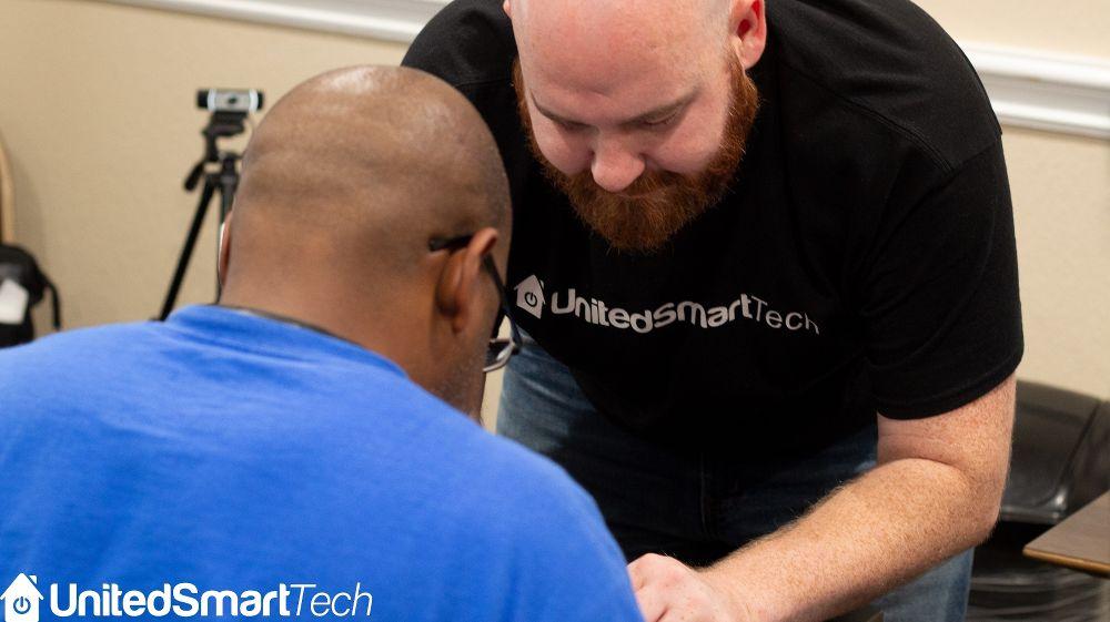 We believes in open communica - United Smart Tech Office Photo
