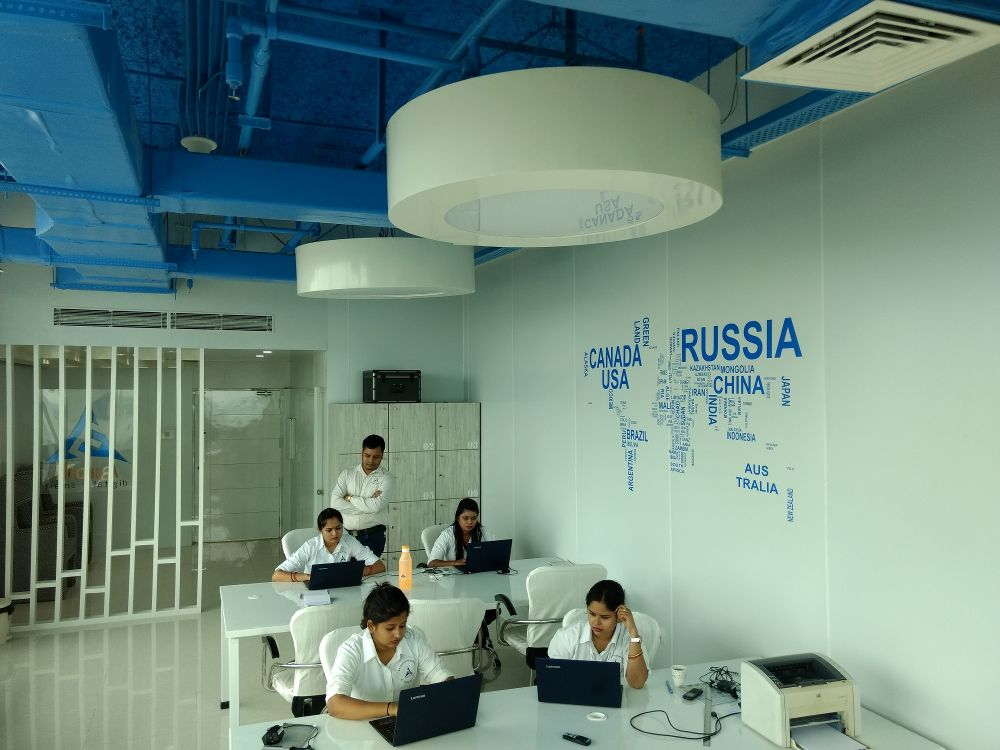 World map - AuroIN Office Photo Glassdoorin