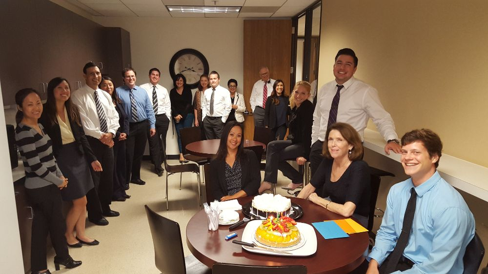 office birthday party - Towerssconstruction