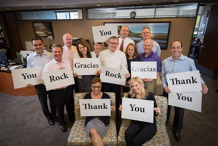 Thank You To Our Employees - UNC Health Care Office Photo