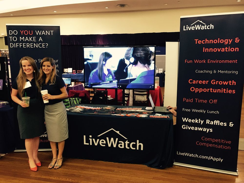 K-State Job Fair apply - LiveWatch Security Office Photo Glassdoor