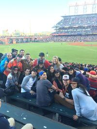 Having fun at the Giants game... - Tradeshift Office Photo ...